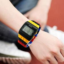 Boy Girls Child Unisex Colorful Digital Wrist Watch Sport Watches