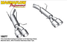 Silenziatore Posteriore 15077 Ford Mustang 5.0L V8 Quadtip Compet Serie 11>