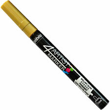 Gaia Pebeo 4Artist Marker Based Permanent Paint Pen 2mm GOLD 580055 New
