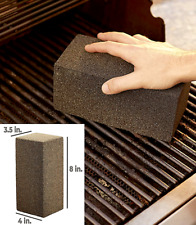 Grill Brick Cleaner Stone, Grill, Griddle, Bbq Scraper Removes Food & Grease