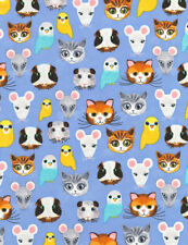Fabric 100% Cotton Timeless Treasures C6190 Pet Shop