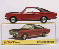 Atlas Dinky Toys 1420 1/43 OPEL COMMODORE COUPE Alloy Diecast Car Model