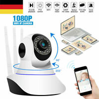 1080P Überwachungskamera Wireless WIFI IP Kamera Webcam Wlan Camera Nachtsicht