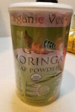 Organic Veda USDA Certified Organic Moringa Leaf Powder, 1 lb (16 Oz) sealed