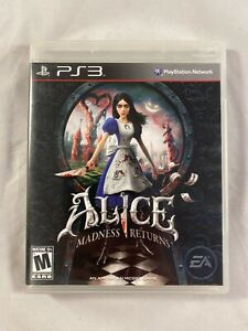 Alice: Madness Returns CIB Complete *RARE GAME* PS3
