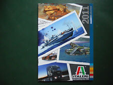 ITALERI CATALOGUE PRODUCTION 2011 146 PAGES COULEURS NEUF