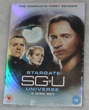 SGU: Stargate Universe - Complete Season Series One 1 - UK DVD Box Set - SEALED