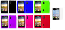 Guard + Silicone Case for LG Optimus Extreme L40G / L5 / E610 / E612 / E615