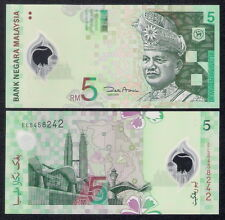 2004 MALAYSIA RM5 POLYMER BANKNOTE (UNC)