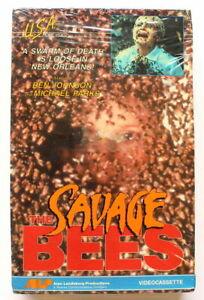 SAVAGE BEES (1976)  BRAND NEW Sealed BETA TAPE ~ RARE Big BOX ~ Cult 70's Horror