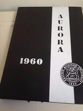 1960 Aurora Eastern Michigan College Year Book Ypsilanti Michigan