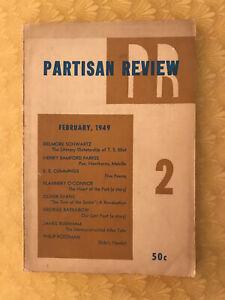 Partisan Review no.2 1949 - rivista americana di letteratura e cultura
