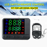12V/24V LCD Monitor Switch +Car Remote Control Kit for Air Diesel Heater