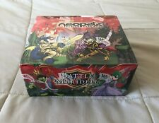 Neopets BATTLE FOR MERIDELL Booster Box -- 36 PACKS, Sealed TCG Cards