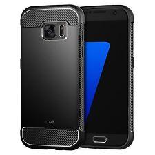 JETech Samsung Galaxy S7 Hülle Case Tasche Schutzhülle mit Stoßdämpfung und Carb