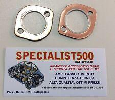 FIAT 500 F/L/R 126 COPPIA GUARNIZIONI COLLETTORI DI SCARICO IN RAME LATO TESTATA