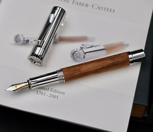 FABER CASTELL 1761-2001 240th Anniversary Limited Edition Fountain Pen 41/1761 F