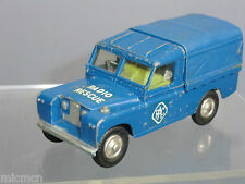 "VINTAGE CORGI TOYS MODEL No 416a LAND-ROVER  ""RAC"" RADIO RESCUE (2nd VERSION )"