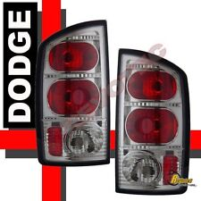 2002-2005 Dodge Ram 1500 03-05 Ram 2500 3500 Pickup Chrome Tail Lights 1 Pair