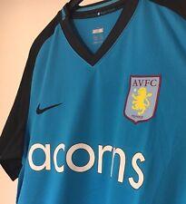 Trikot Aston Villa FC 2008-10 Nike Acorns XL 08/09/10 away Kit Blau Shirt NEU