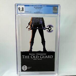 The Old Guard #1 CGC 9.8 WP - Image Comics / Charlize Theron Movie Netflix
