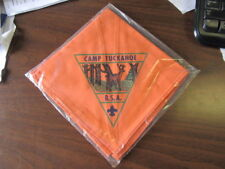 Camp Tuckahoe Peach Colored Neckerchief     eb17