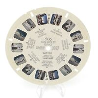 View-Master Reel # 206 Sun Valley Idaho Winter with © viewmaster