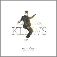 ALEXANDER KLAWS - AUF DIE BÜHNE,FERTIG,LOS!  CD LIMITED FANBOX ++++NEUF
