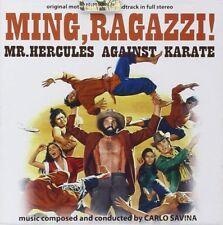 Carlo Savina - Ming, Ragazzi! Mr Hercules Againt Karate - Soundtrack - Cd Nuovo