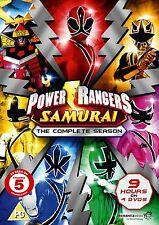 Power Rangers Samurai: Complete Collection Vols 1-4 - DVD NEW & SEALED (4 Discs)