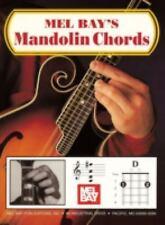 Mel Bays Mandolin Chords- Good Condition