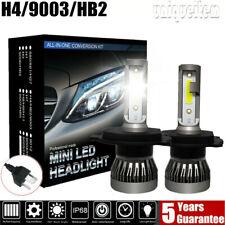 2x Mini H4 Hi/Lo Beam LED Headlight Kit 9003 40W 12000LM Bulb 6000K Lamp HB2 HID
