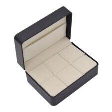 Empty Gift Box Jewelry Case Storage For Men Cufflinks Tie Clip Organizer Display