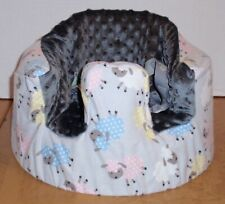 New Bumbo Floor Seat Cover • Little Lambs • Safety Strap Ready