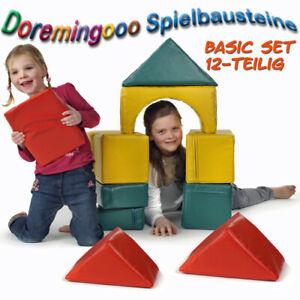Großbausteine XXL Bausteine Spielbausteine Leichtplane Softbausteine 12 Teilig