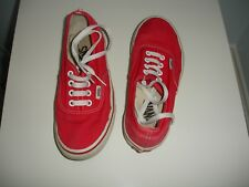 """used older girls / womens """"vans"""" shoes in size 4"""