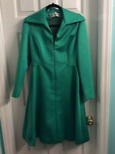 9ff90a777c6 Vintage Mollie Parnis New York Long Sleeve Cocktail Dress Size 12