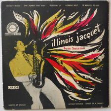 ILLINOIS JACQUET – JAM SESSION – 10 INCH VINYL LP RECORD – APOLLO # LAP 104
