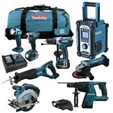 MAKITA LXT 18V 13tlg. Akku Werkzeug Set +BHR262 RMJ Kombi-Bohrhammer +BCV02 RFE