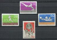 28301) RUSSIA 1959 MNH** Nuovi** Spartacist Games 4v