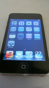 Apple iPod touch 2nd generation Black 8GB Working 1A904YPX201