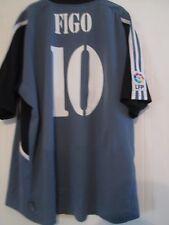 Real Madrid Figo 10 2000-2001 Tercera Camiseta De Fútbol Talla XL/43885