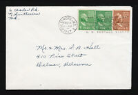 SC #804, 839, 805 COVER 1847 CENTENARY 1947 INTL PHILATELIC EXHIBITION POSTMARK