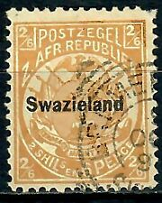 Swaziland 1890 2s6d Buff Fine Used SG7 C.V. £475