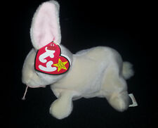 Rare!!! NIBBLER The Rabbit TY Beanie Baby Plush Multiple Tag Errors Misspellings