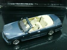WOW EXTREMELY RARE Bentley Azure Cabriolet 6.8 Promo 2006 Blue m 1:43 Minichamps