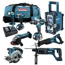 MAKITA LXT 18V 12tlg. Akku Werkzeug Set +DHP481 Schlag-Bohrschrauber +DHR241 RMJ
