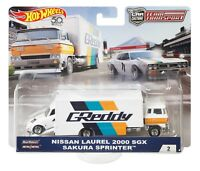 Hot Wheels Car Culture Team Transport Nissan Laurel 2000 SGX Sakura Sprinter