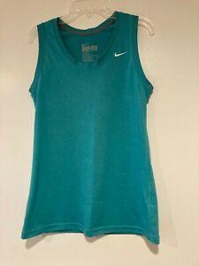 Nike Dri-Fit Green Women's Tank - Regular Fit - Size Large