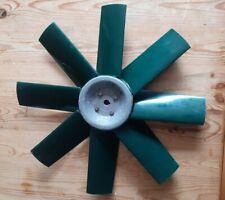 PLASTIC 8 BLADE FAN YORK ALI HUB 475mm 18.75in dia 14mm hub